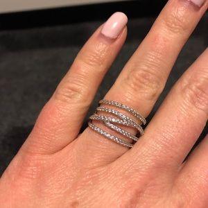 Stella & Dot Stellar Pave Ring